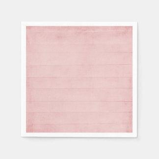 Bloos de Roze Textuur van de Waterverf kijken Wegwerp Servet