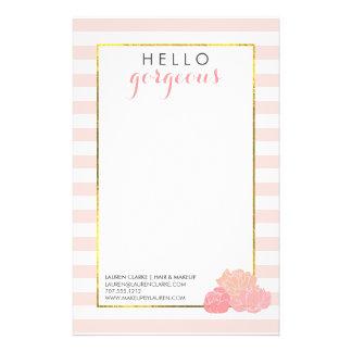 Bloost de Schitterende Roze Streep van Hello en Folder