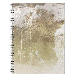Blootgesteld draag notitieboek