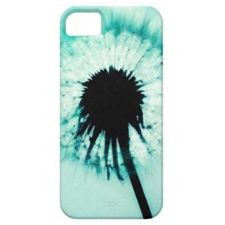 Blue Dandelion Blauwe Paardebloem Barely There iPhone 5 Hoesje
