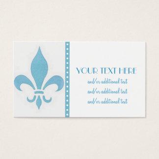 Blue Fleur DE Lis Visitekaartjes