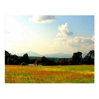 Blue Ridge Mountains Briefkaart