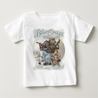 Bluegrass Critters door Mudge Studios Baby T Shirts