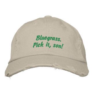 Bluegrass: Oogst het, Zoon! Geborduurde Pet