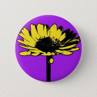 blumendrei1 ronde button 5,7 cm