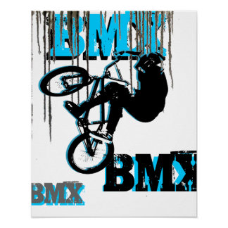 BMX 22, Copyright Karen J Williams Poster