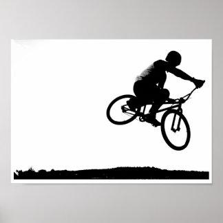 BMX airborn Poster