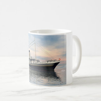 boat_titanic_close_water_waves_sunset_pink_standar koffiemok
