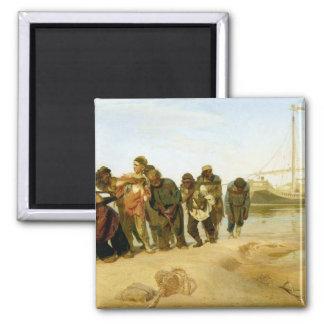 Boatmen op Volga, 1870-73 Koelkast Magneet
