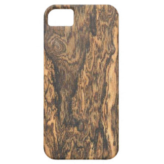 Bocote (hout) beëindigt iPhone 5 hoesje