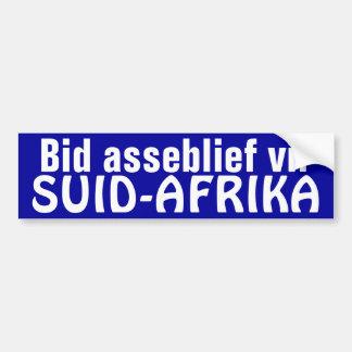 Bod Asseblief Vir suid-Afrika Bumpersticker