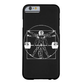 Bodybuilding - het Man van Vitruvian Barbell Barely There iPhone 6 Hoesje
