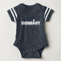 Bodysuit van de Sport van het Baby van het ijzer