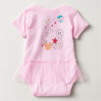 Bodysuit van het baby minnie