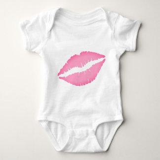 Bodysuit van het Baby van de Druk van de kus