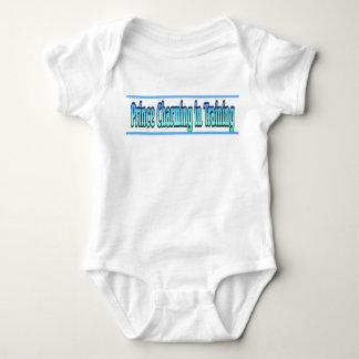 Bodysuit van het Baby van de prins Charmante