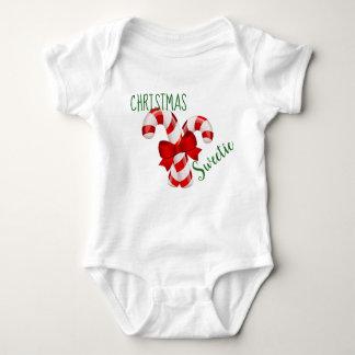 Bodysuit van het Baby van de Schat van Kerstmis