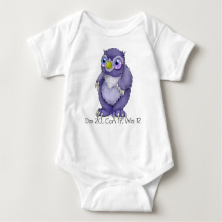 Bodysuit van het Baby van Owlbear van het baby