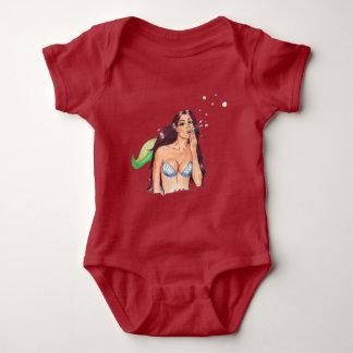 Bodysuit van het Baby van Sirena van Mermaiden