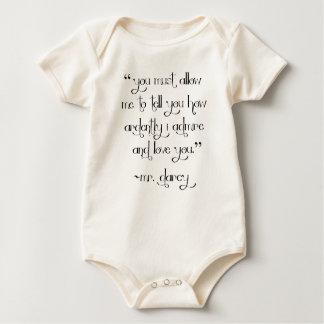 Bodysuit van het het babyoverhemd van het Voorstel
