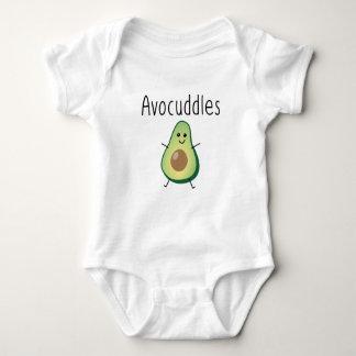 Bodysuit van Jersey van het Baby van Avocuddles