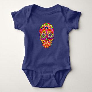 Bodysuit van Jersey van het Baby van de Schedel