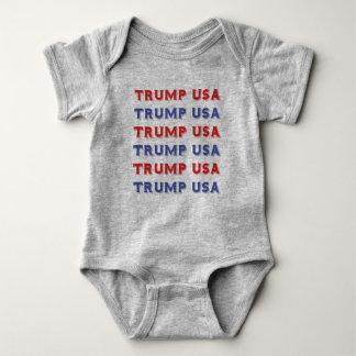 Bodysuit van Jersey van het Baby van de V.S. van