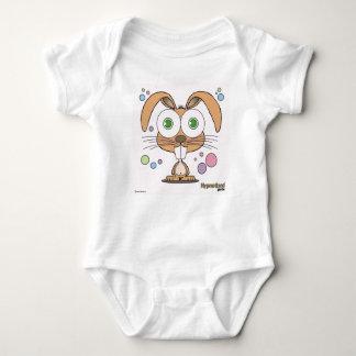Bodysuit van Jersey van het Baby van het konijntje