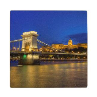 Boedapest, Hongarije Houten Onderzetter