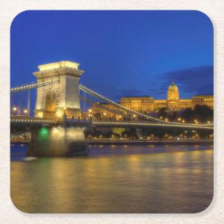 Boedapest, Hongarije Vierkante Onderzetter