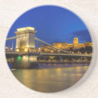 Boedapest, Hongarije Zandsteen Onderzetter