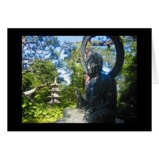 boeddhistisch standbeeld kaart