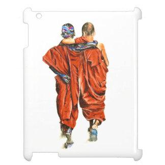 Boeddhistische monniken iPad cover