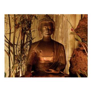BOEDHA: Het Standbeeld van het koper Briefkaart
