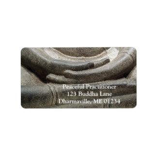 Boedha overhandigt de Houding van de Meditatie Etiket
