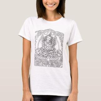 Boedha van T=shirt van de Vrouwen van het T Shirt