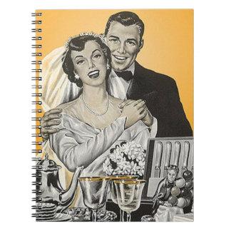 Boek van de Gast van de Bruid & van de Bruidegom Ringband Notitieboek
