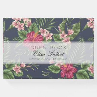 Boek van de Gast van de hibiscus het Begrafenis