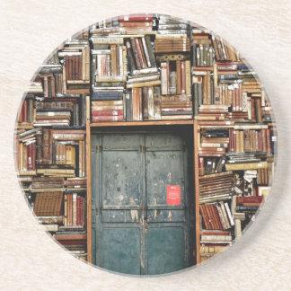 Boeken en Boeken Zandsteen Onderzetter