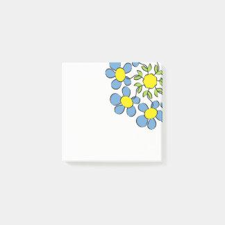 Boeket van de lentebloemen post-it® notes