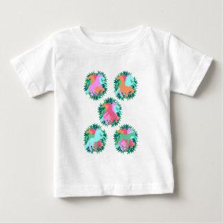 Boeket van Eenhoorns Baby T Shirts