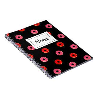 Boekje met foto Donuts Ringband Notitieboek