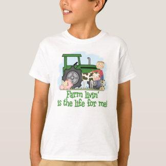 Boerderij Livin (Jongen) T Shirt