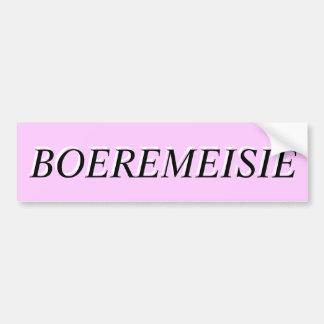 BOEREMEISIE BUMPERSTICKER