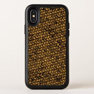 Boete Geweven Mandenmakerij OtterBox Symmetry iPhone X Hoesje