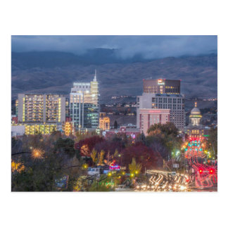 Boise van de binnenstad Idaho Briefkaart