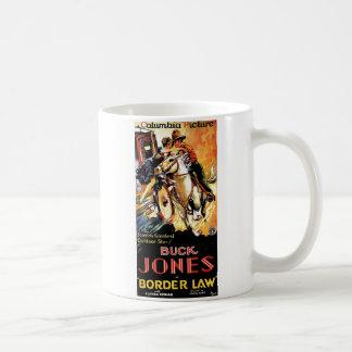 Bok Jones in de Wet van de Grens Koffiemok
