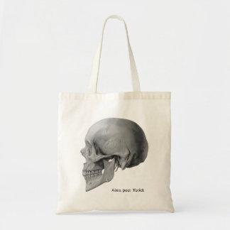 Bolsa van het de schedel het slechte boek Yorick Draagtas