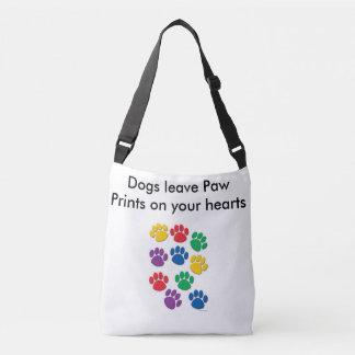 bolsa zakken, giften, hondliefde, honden, dieren crossbody tas