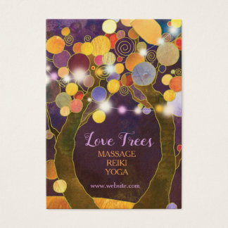 Bomen van de Liefde van de Lichten van het koord Visitekaartjes